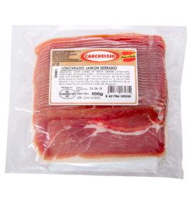 2081-LONCHEADO JAMON SERRANO VACIO 500 gr