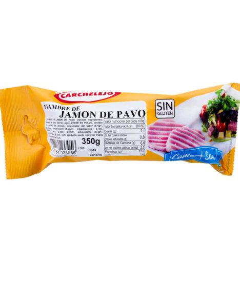 1452- JAMON DE PAVO 350G