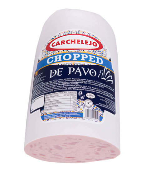 2002- CHOPPED DE PAVO
