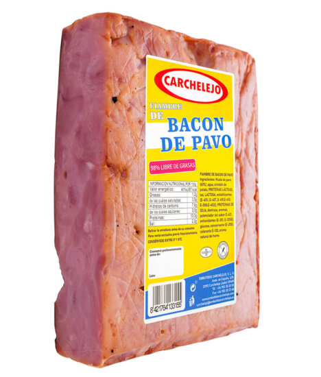 1461- BACON DE PAVO